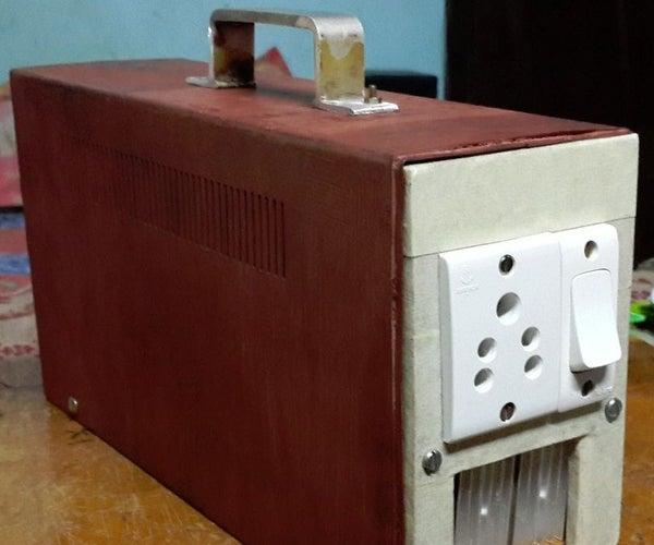 220V HOMEMADE PORTABLE POWER INVERTER