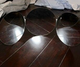 可折叠,便携式,紧凑的三镜设置