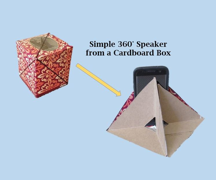 Simple 360 Speaker From a Box