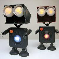 Robot Zombie Figurine
