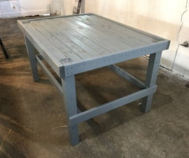Building a Workbench Out of Pallets