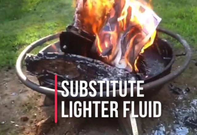 Substitute for Lighter Fluid