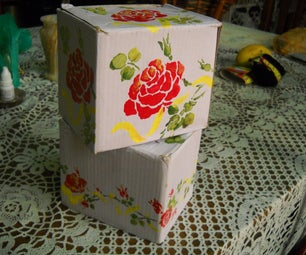 Stenciling Boxes