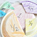 Paper Plate Fractions - Math Manipulative