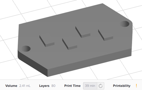 SLA Printing