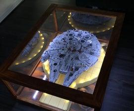 UCS Lego Millennium Falcon Coffee Table