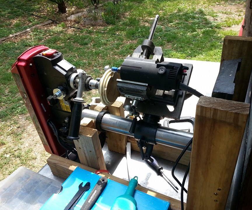 Manuel 5 Axis Drill press/ Lathe/Mill