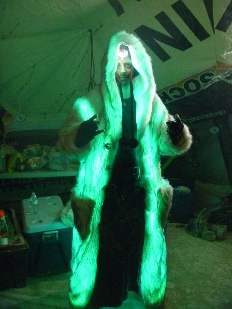 Color Changing Light Coat