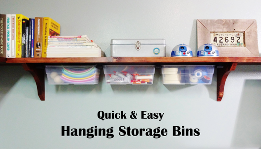 Hanging Storage Bins