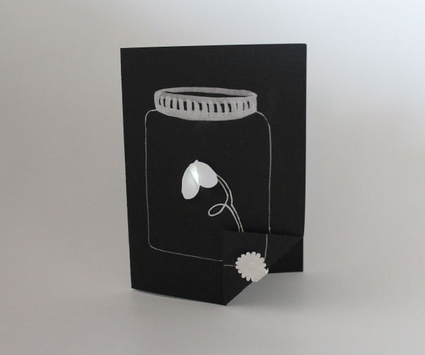 Firefly Card With Conductive Ink