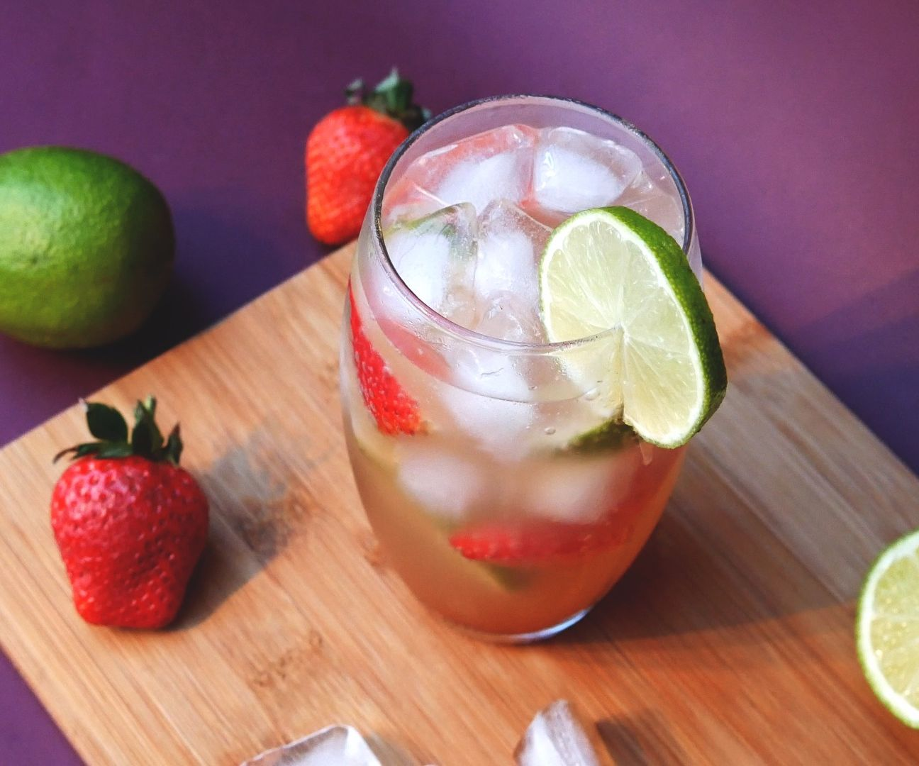 Strawberry & Lime Ginger Ale (Beer) Non Alcoholic