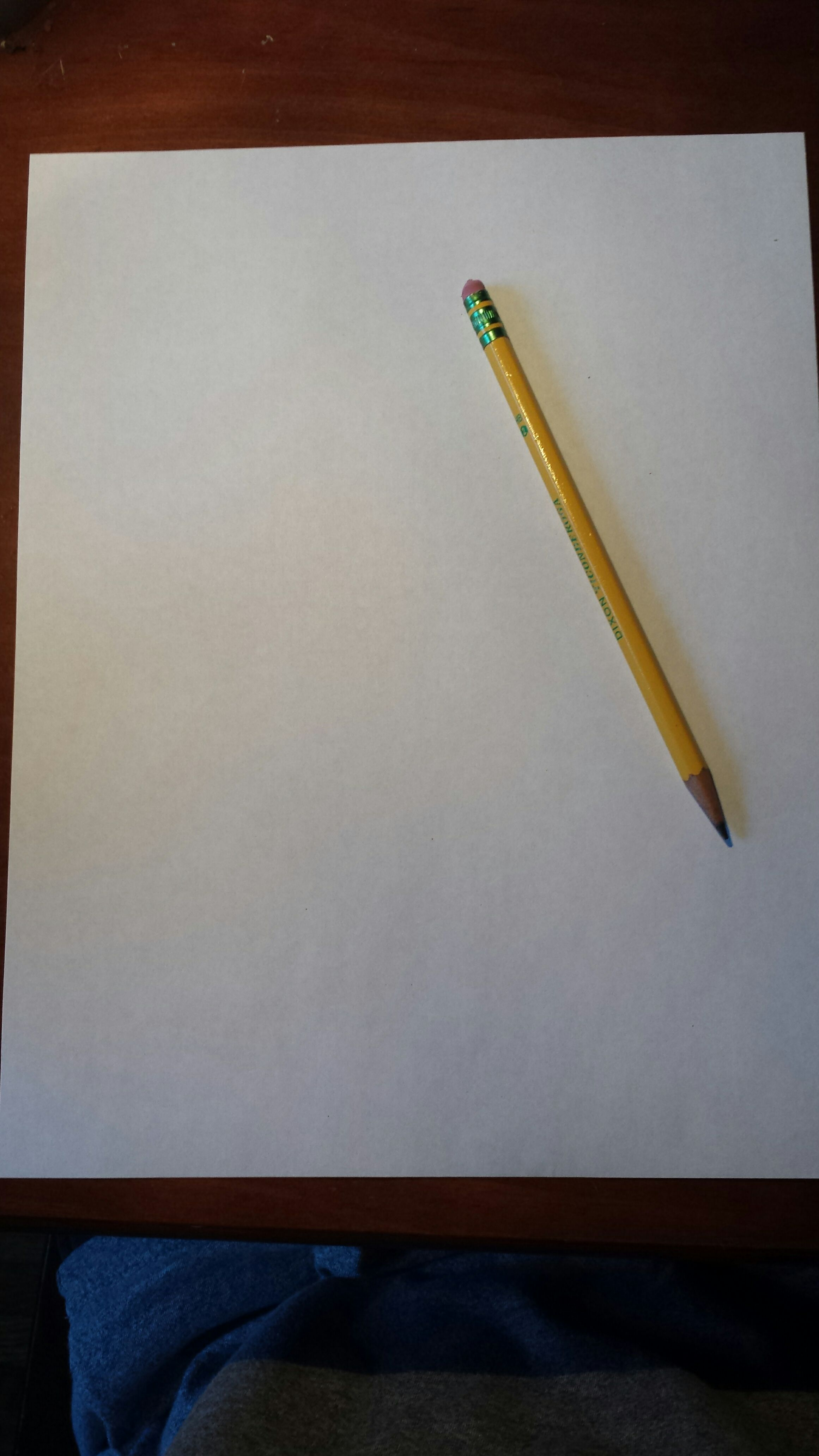 simple pencil and paper game