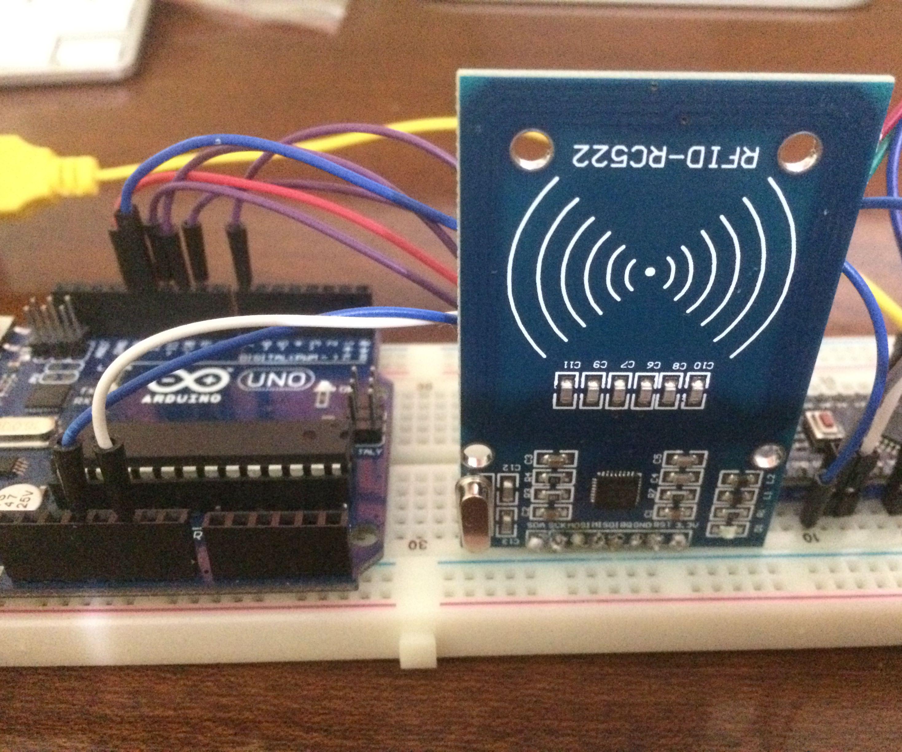 Keyless-Go System W/Arduino,RC522 RFID