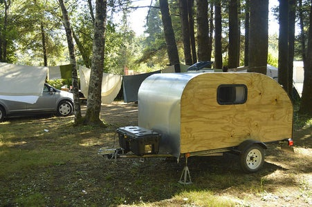 Build Your Own Teardrop Camping Trailer!