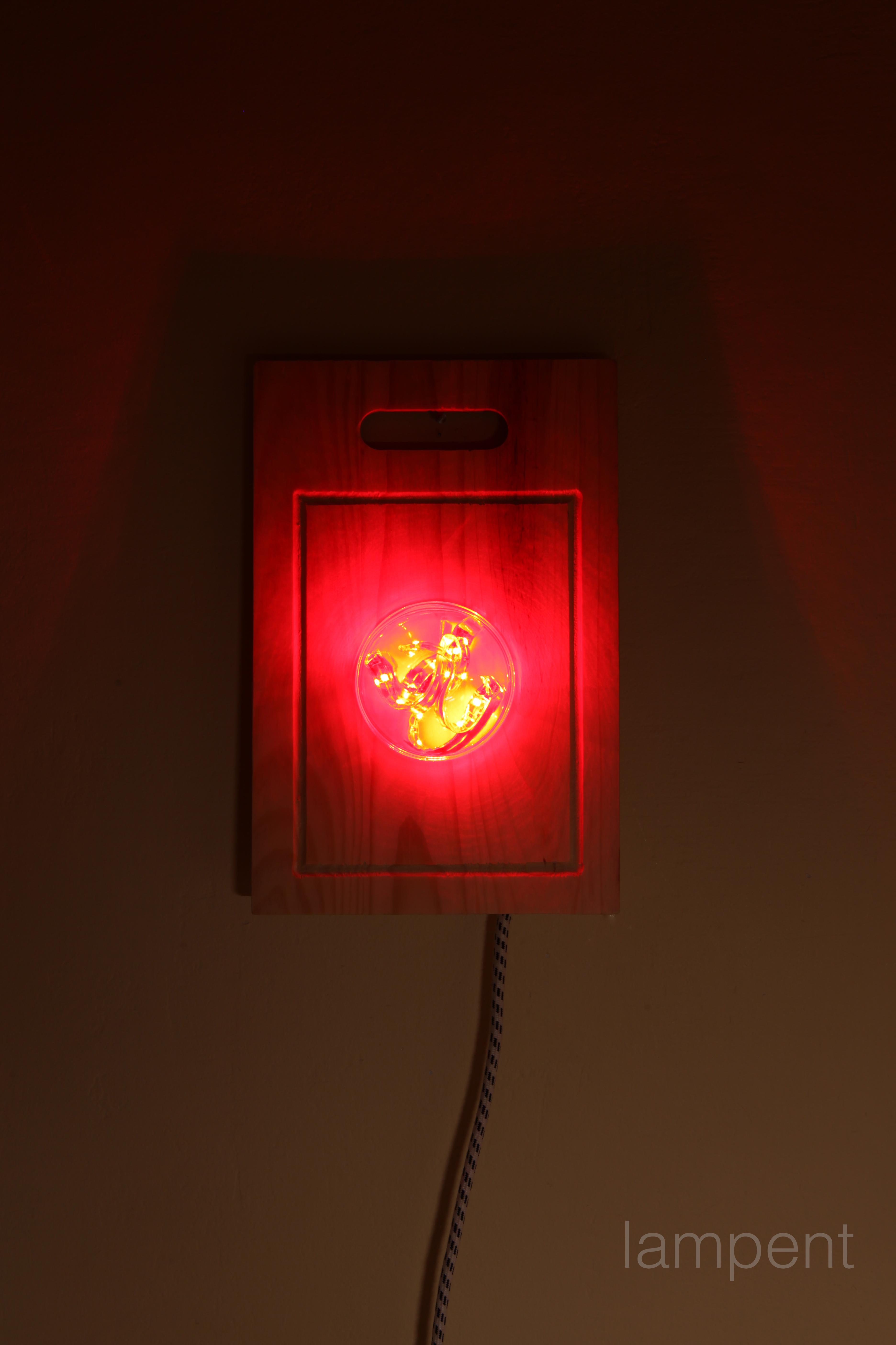 The cutting board led lamp.
