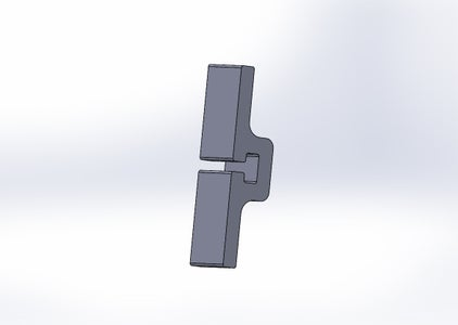 Tray Spacer Clips - Second Design Iteration