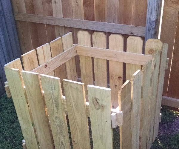 Compost Bin - Low Cost, Easy, and Modular