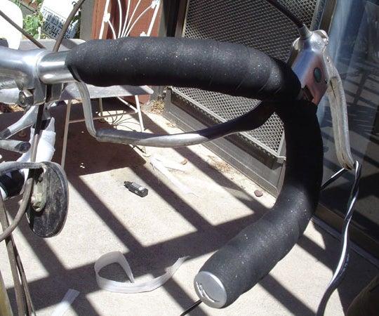 Padded Road Bike Handlebars on the Cheap!