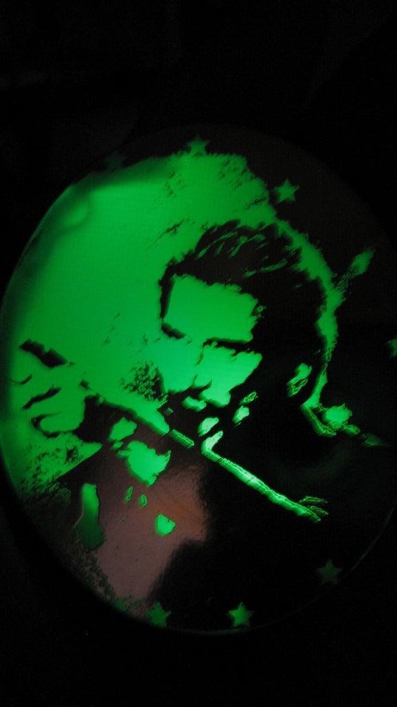 RGB LED Medallion