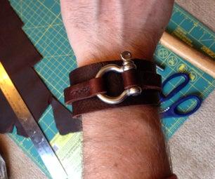 Leather Wrist Cuff