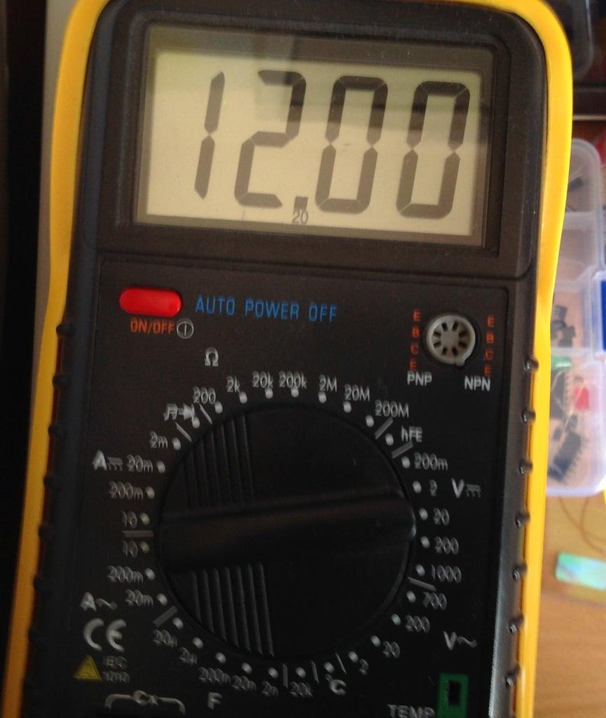Voltage Adjustment