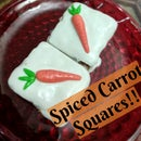 DIY Spiced Carrot Cake Squares!!