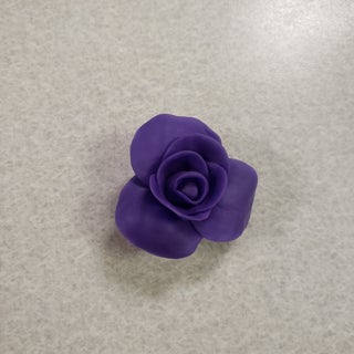 Rose From Fondant or Clay
