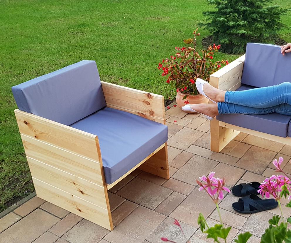 Modern Outdoor Chair - VIDEO