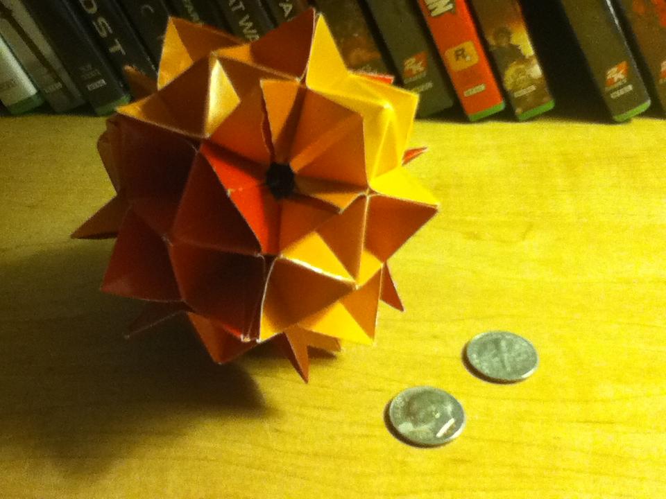 Origami Spiky Cuboctahedron
