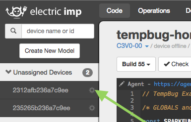 Setting Your Imp Firmware