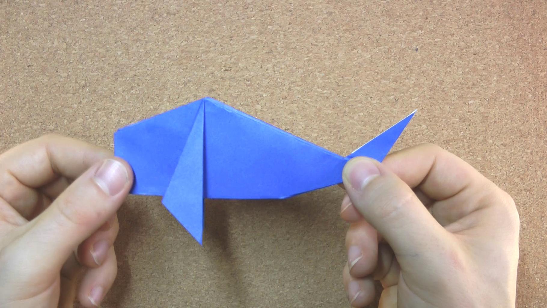 Whale Option: Fold Down Corners