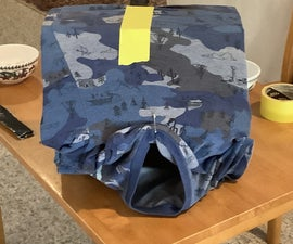 Indoor Cat Shelter With Water and Food