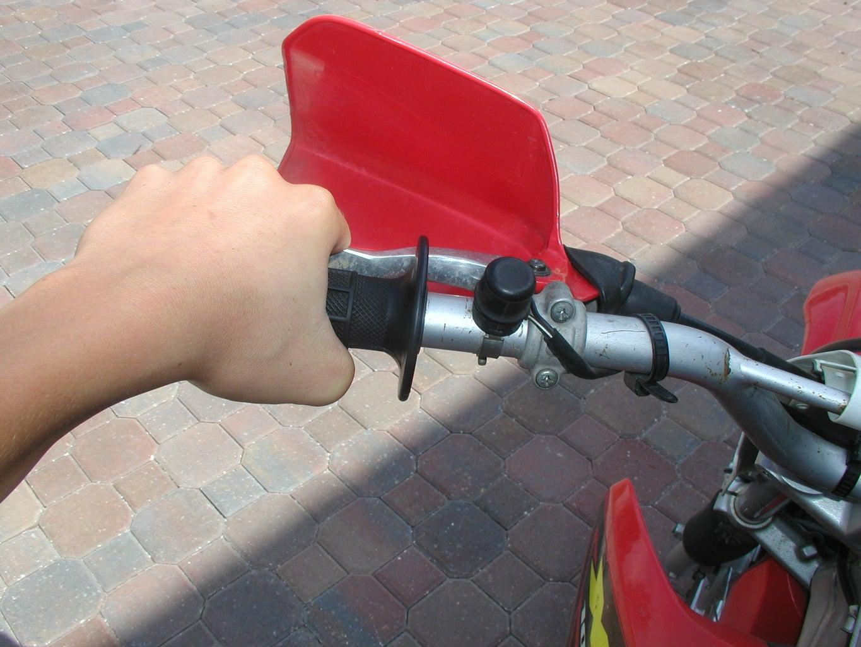 Put the Bike in Neutral.