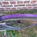 Decorated Bike Fender