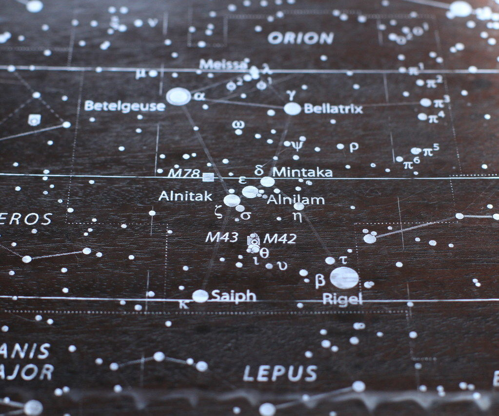 See Through Star Map
