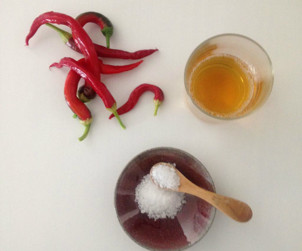 No Cook Chilli Sauce