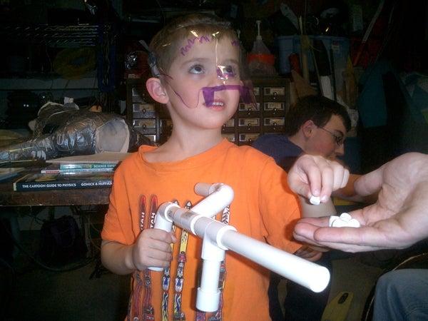 Como Fazer Uma Arma De Marshmallow Ou Atirador De Marshmallow