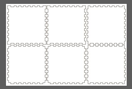 Import Lasercut/CNC Design to Blender