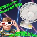Automatic desktop fan