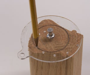 A Small Circle Center Finder & Drawing Aid