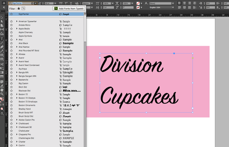 Type Desired Text and Use the Text Options to Change the Font Type and Font Size.