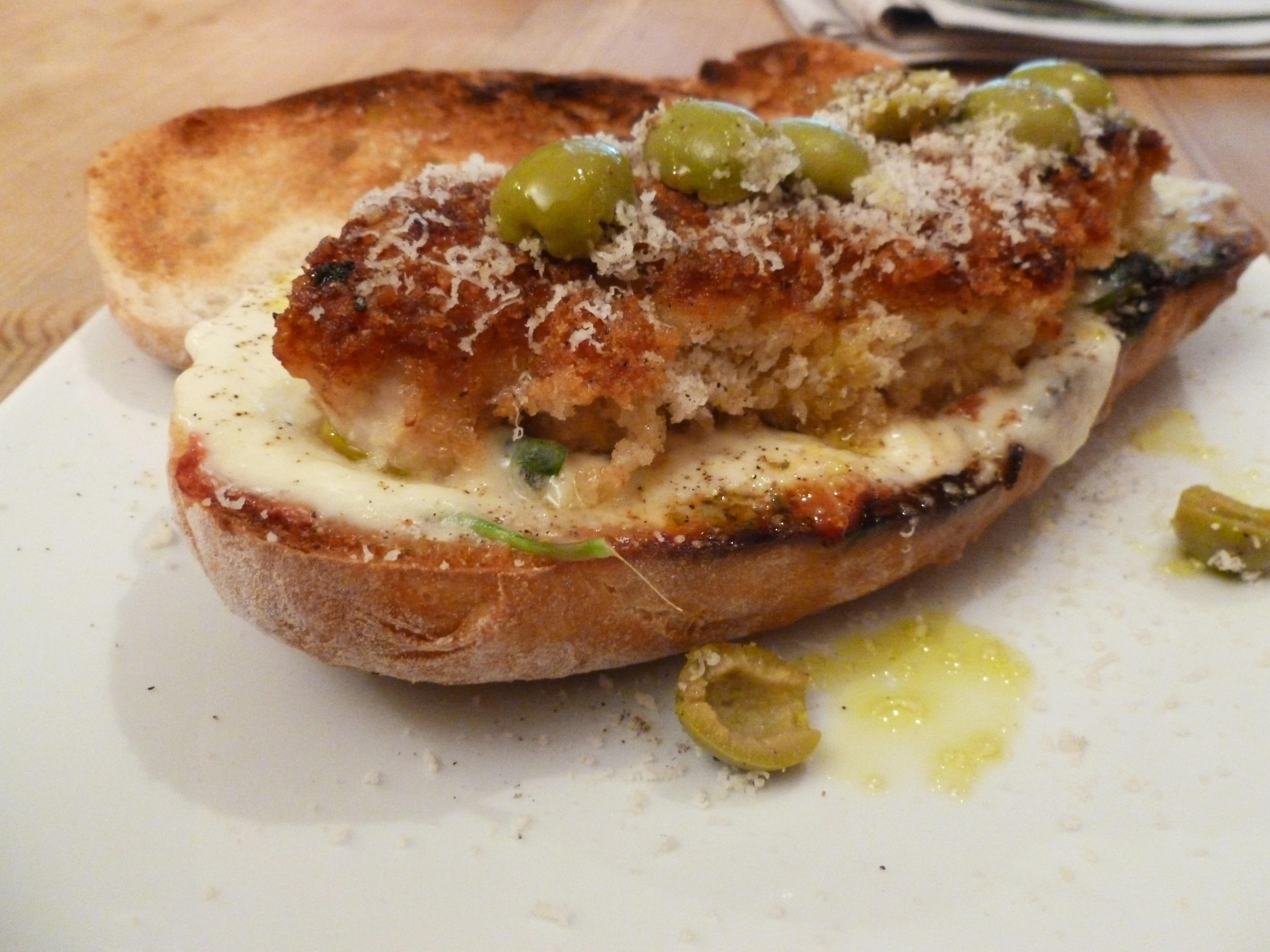 Italian Style Breaded Chicken Sandwich