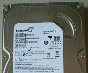 Teardown Seagate SATA Hard Disk Drive