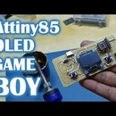 Just Another ATtiny85 Retro Gaming Console
