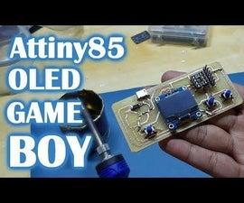 只是另一个attiny85复古游戏控制台