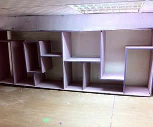 The Purple Shelf Unit