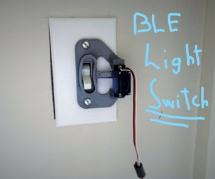 Smartphone-Controlled Light Switch