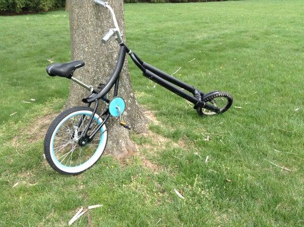PVC Chopper Bicycle