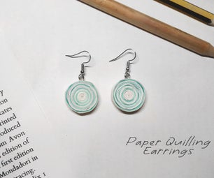 Paper Quilling Earrings