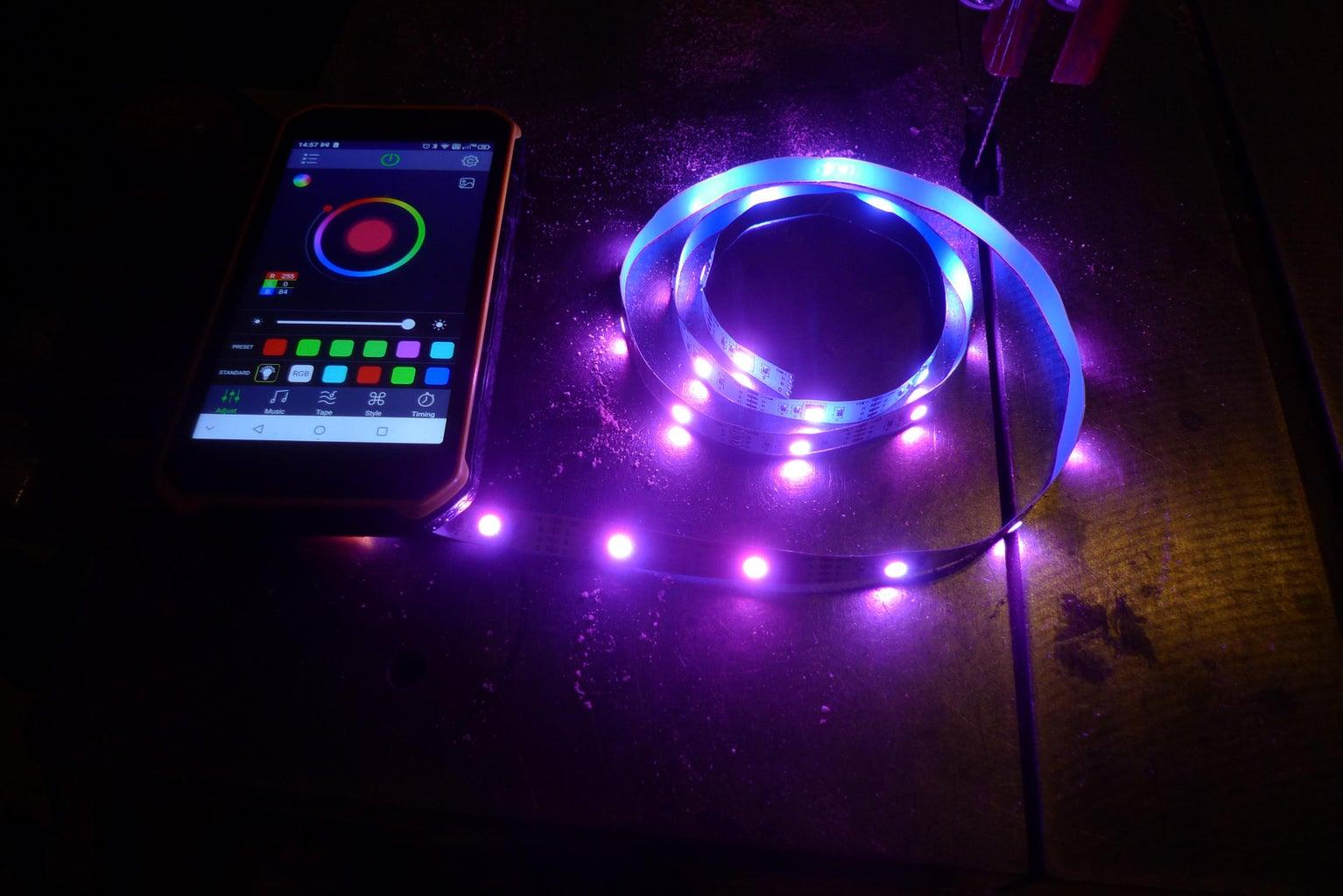 Adding the LED Strip
